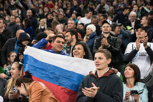 Матч  «Краснодар» — «Севилья», Краснодар, 4 октября 2018 года ©Фото Елены Синеок, Юга.ру