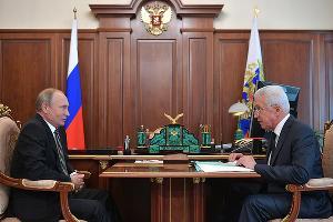 Владимир Путин и Владимир Васильев ©Фото с сайта kremlin.ru