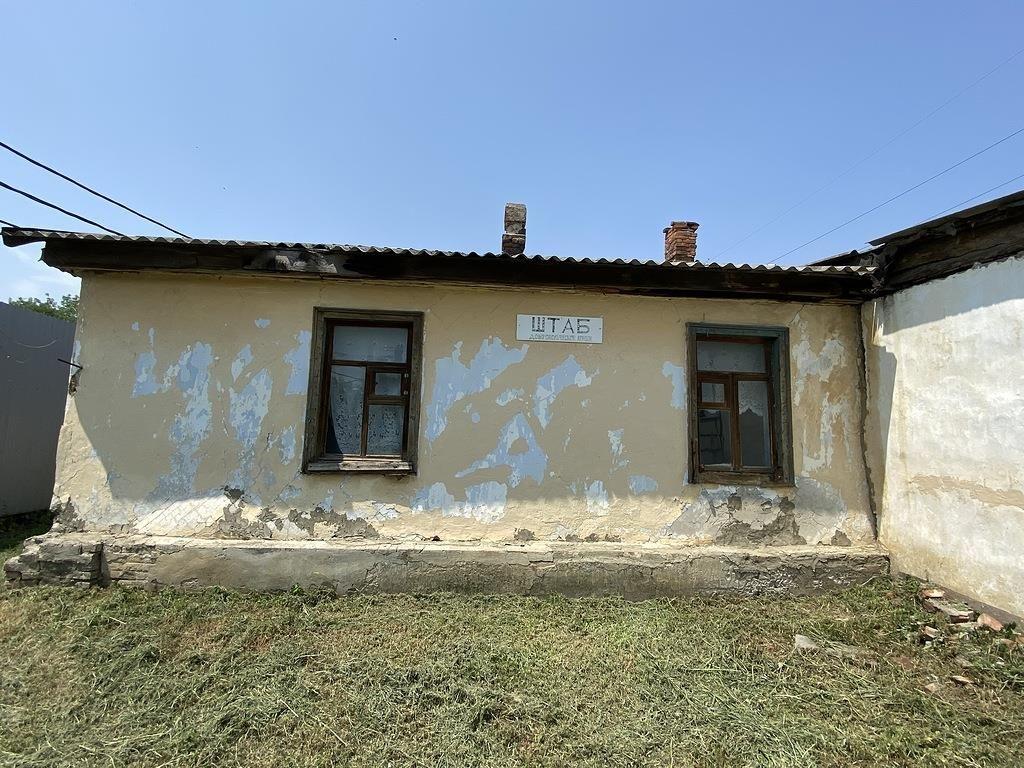 Здание, где находился штаб генерала Корнилова, Калинина, 100 ©Фото пресс-службы мэрии Краснодара