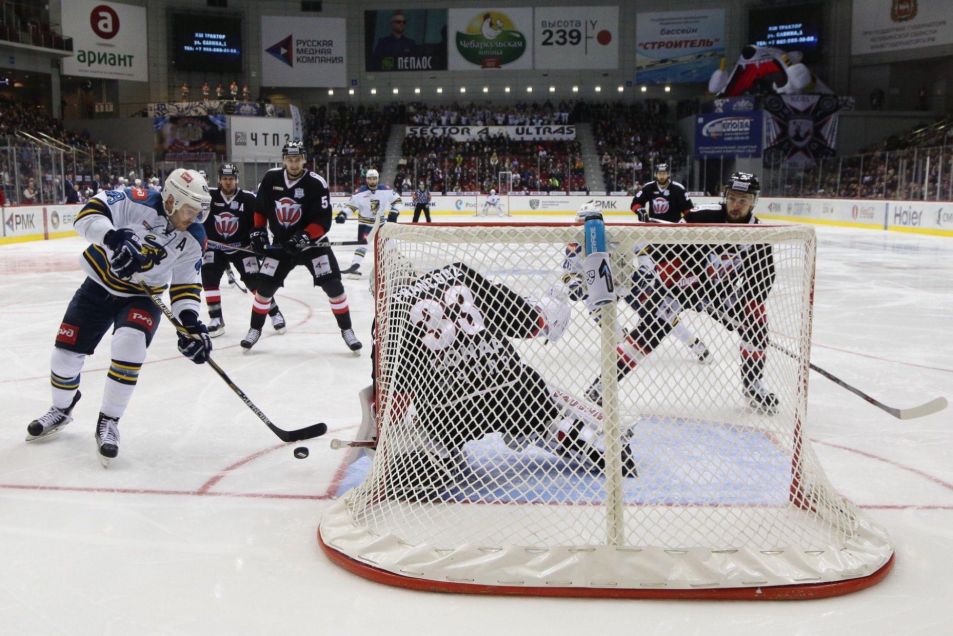 Хоккеисты «Сочи» побуллитам переиграли челябинский «Трактор» вматче КХЛ
