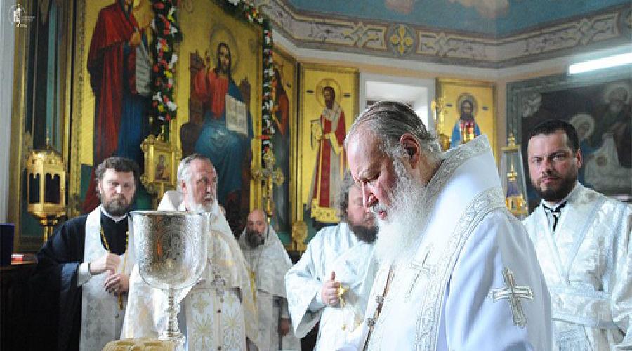 Визит патриарха Кирилла в Новороссийск, фото пресс-службы Екатеринодарской и Кубанской епархии ©Фото Юга.ру