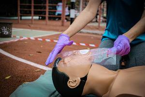 Соревнования по оказанию первой помощи в КубГМУ ©Фото пресс-службы КубГМУ