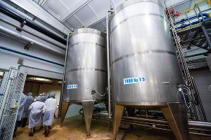 Танки, в которых хранится сырье для производства продукции завода ©Елена Синеок, Юга.ру