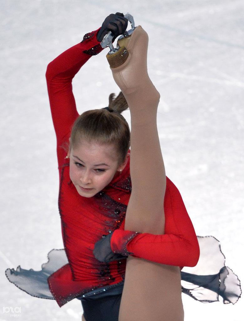 Юлия липницкая шпагат фото