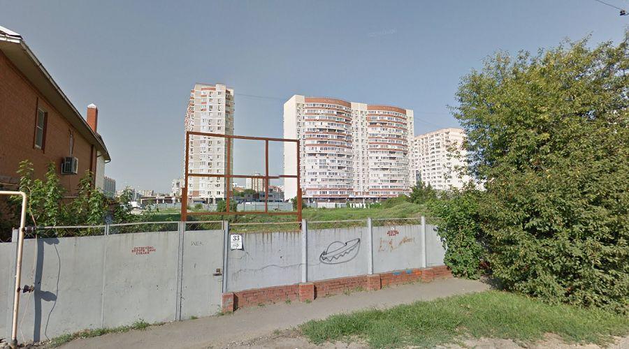 Краснодар, Харьковская, 33 ©Фото Google Maps, google.ru/maps/, 2019 год