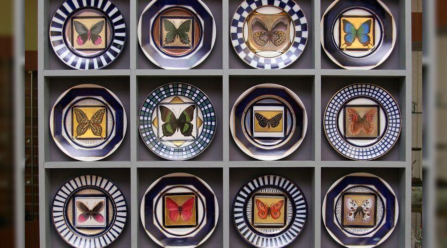 Фарфор, бабочки ©Сочинское филармоническое объединение