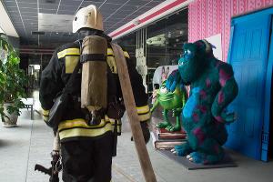 Пожарные учения в краснодарском ТРК «Сити Центр» ©Фото Дмитрия Леснова, Юга.ру