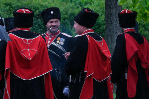 Парад Кубанского казачьего войска в Краснодаре ©Фото Юга.ру