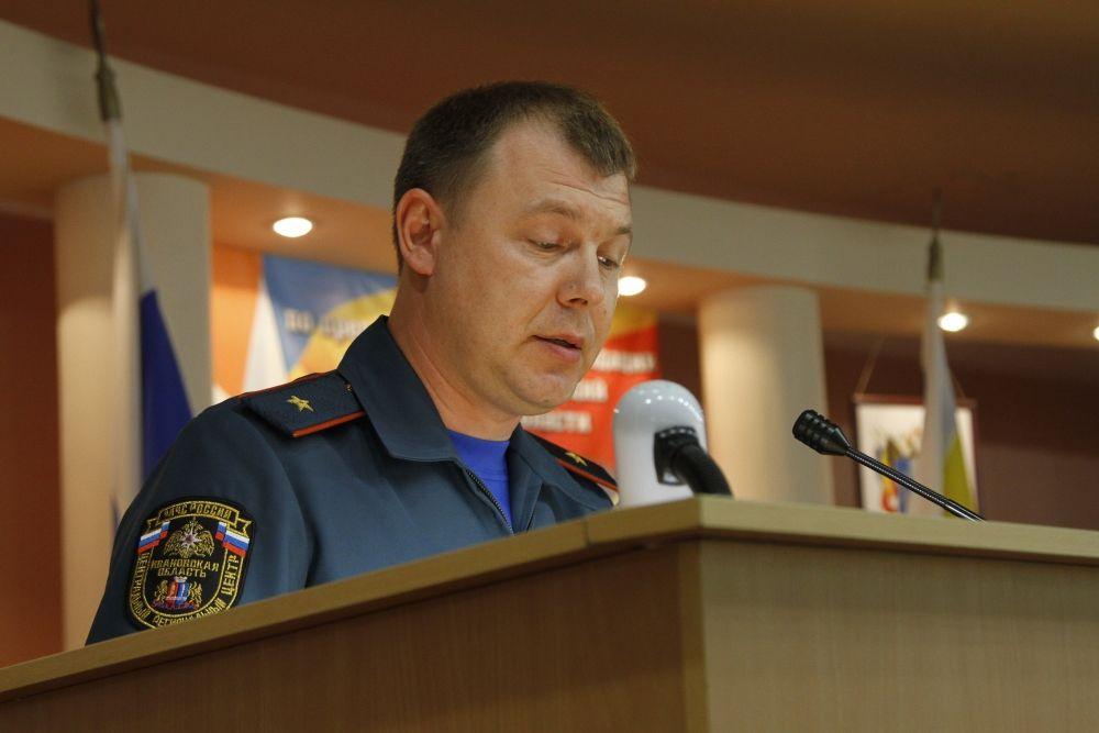 ВРостовской области новый глава регионального МЧС представлен личному составу
