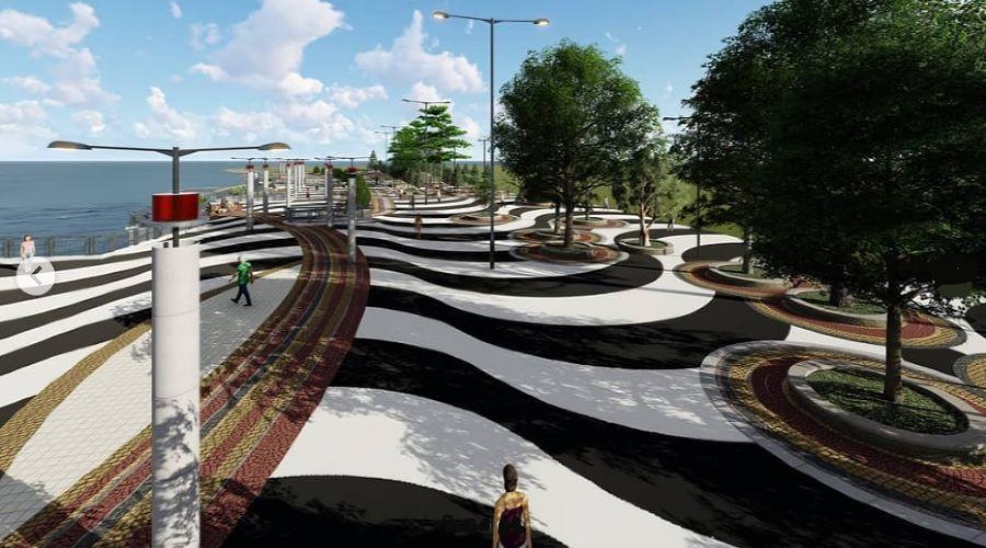 Проект реконструкции центральной набережной Анапы ©Фото со страницы instagram.com/admanapa