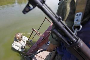Учения водолазов железнодорожных войск ©Фото Влада Александрова, Юга.ру