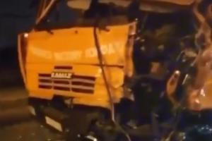 ©Скриншот видео из группы «ЧП Краснодар» во «ВКонтакте», vk.com/krd_chp