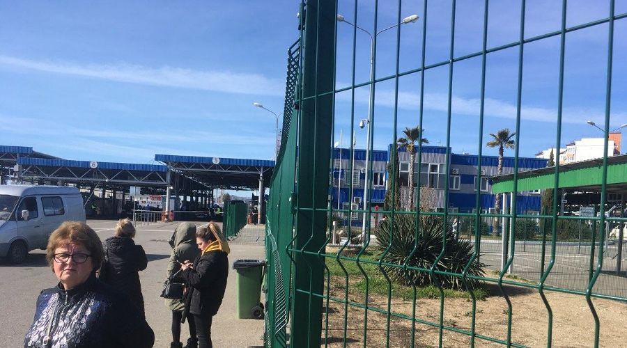 КПП на границе с Абхазией ©Фото Юга.ру