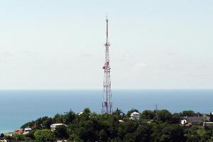 Сочинская телебашня ©Фото с сайта wikimedia.org