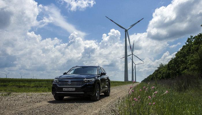Тест-драйв Volkswagen Touareg ©Фото Евгения Мельченко, Юга.ру
