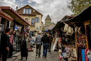 На автомобиле в Грузию. Улицы ©Фото Евгения Мельченко, Юга.ру