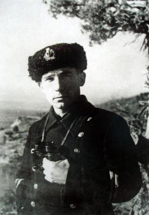 Капитан А.Э. Зубков
