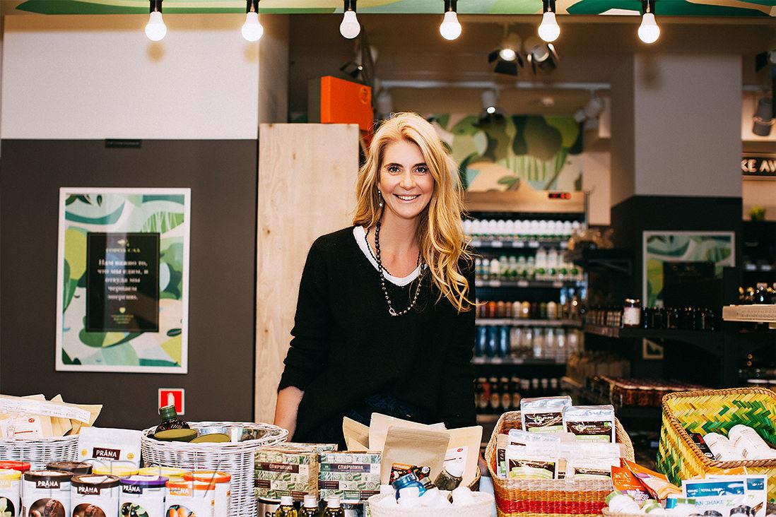Дарья Лисиченко, основатель сети супермаркетов «Город-Сад» ©Фото предоставлено организаторами гастрономического фестиваля IKRA