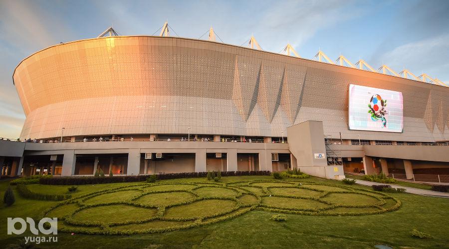 «Ростов-Арена» ©Фото Елены Синеок, Юга.ру