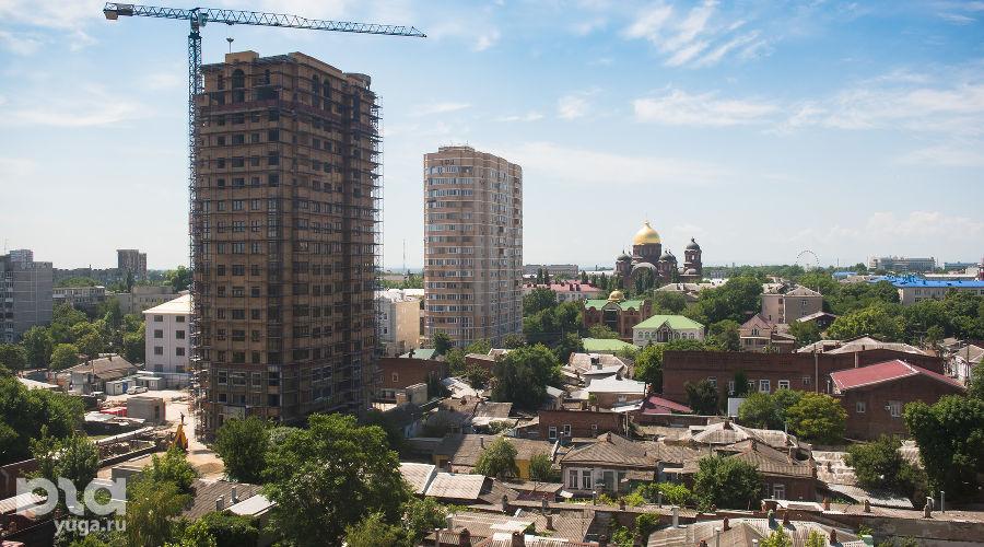 Центральная часть Краснодара ©Фото Елены Синеок, Юга.ру