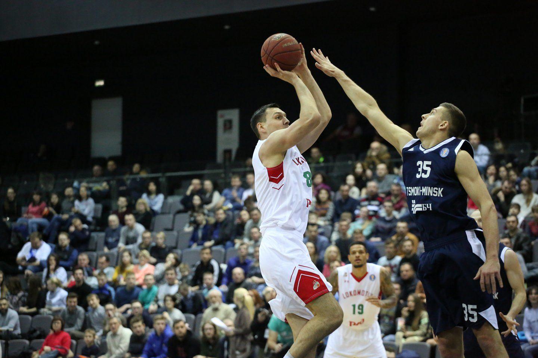 Баскетболисты «Цмокi-Мiнск» обыграли «Локомотив-Кубань»