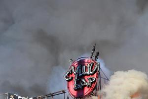 2011 год в фотографиях. Пожар в суши-кафе на углу Тургенева и Северной в Краснодаре ©http://www.yuga.ru/photo/660.html
