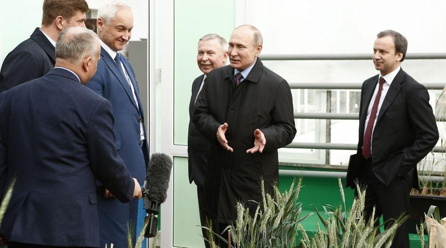 Владимир Путин на Всероссийском форуме сельхозпроизводителей ©Фото Юга.ру