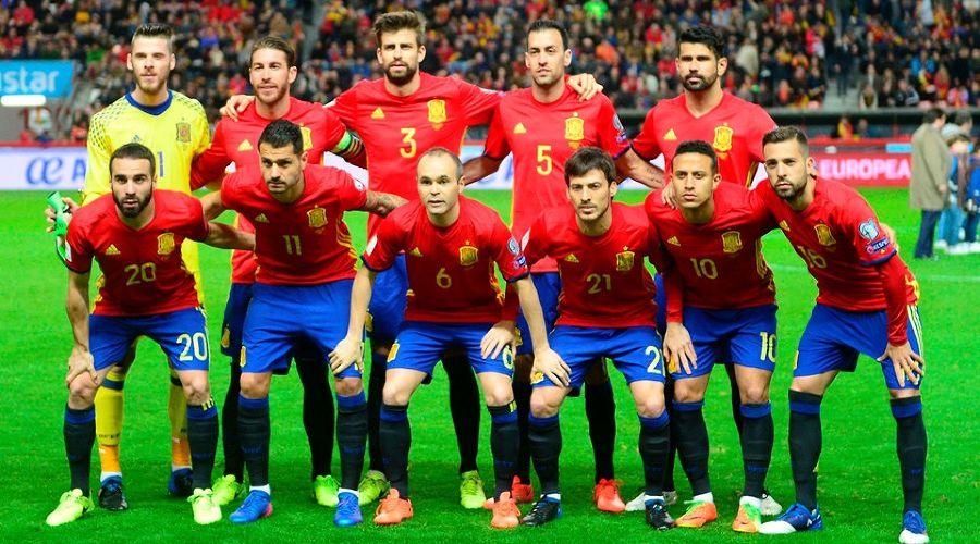 Сборная Испании ©Фото с сайта ru.fifa.com