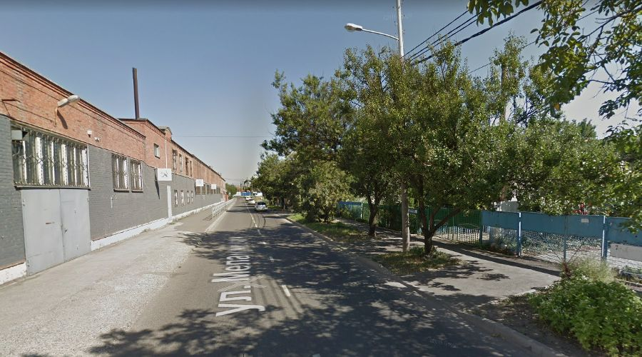 улица Меланжевая ©Фото Google Maps