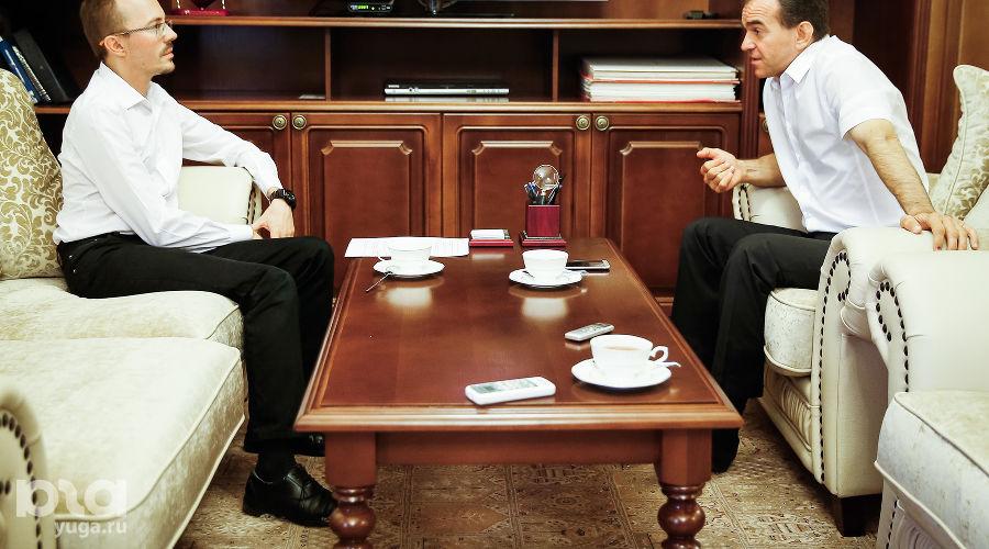 Интервью с Вениамином Кондратьевым ©Фото Юга.ру
