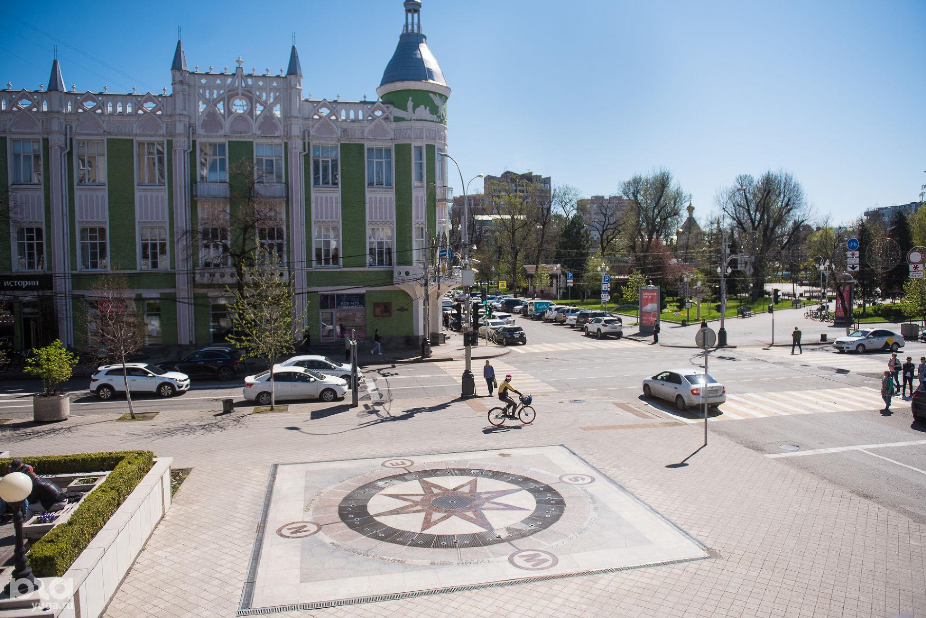 Угол Красной и Гимназической ©Фото Елены Синеок, Юга.ру