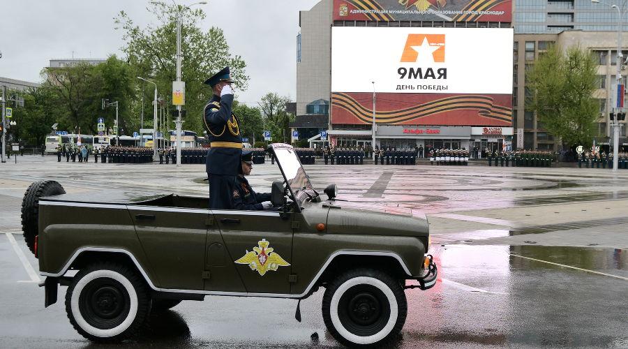 Парад Победы в Краснодаре — 2021 ©Фото Александра Райко, пресс-служба администрации Краснодара