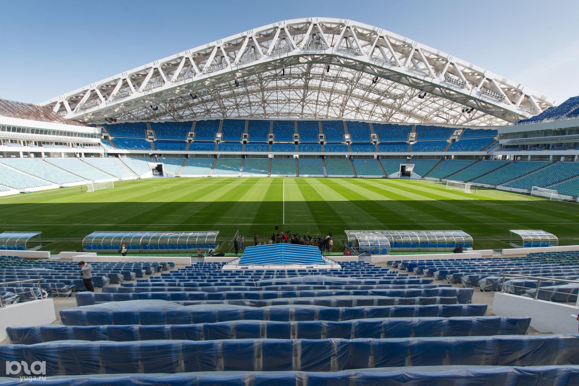 Стадион «Фишт» ©Фото Никиты Быкова, Юга.ру