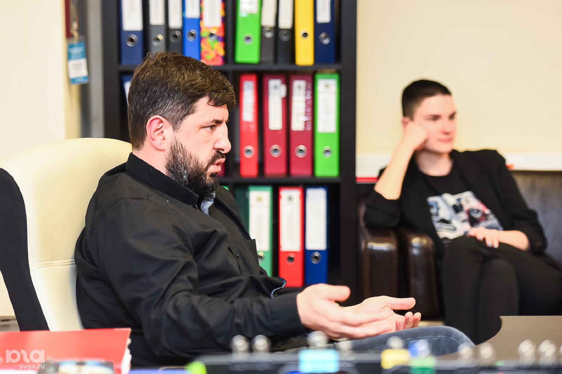 Алексей Аванесян и Юлия Федотова ©Фото Елены Синеок, Юга.ру