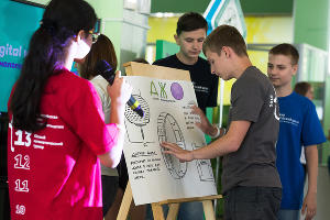 Лагерь Digital Campus в «Орленке» ©Фото Елены Синеок, Юга.ру