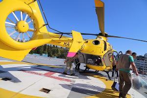 Вертолет санавиации ©Фото пресс-службы Министерства здравоохранения Краснодарского края