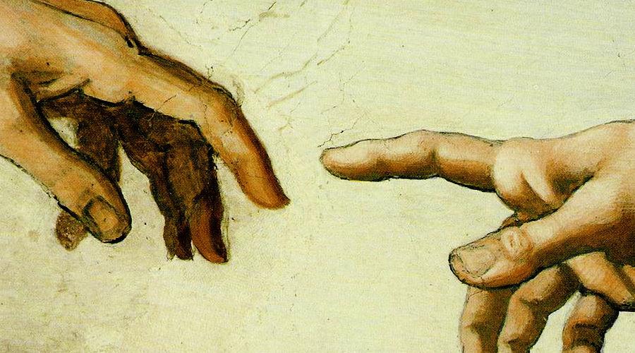 Фрагмент фрески «Сотворение Адама», Микеланджело ©Фото с сайта blueprintlivingforlife.com
