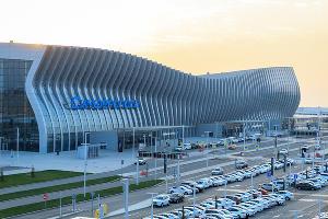 Международный аэропорт Симферополь ©Фото пресс-службы УТ МВД России по ЮФО