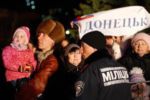 Крым проголосовал за воссоединение с Россией ©Влад Александров, ЮГА.ру