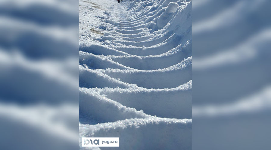 Снег ©Фото Юга.ру