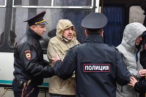 Акция сторонников Навального в Краснодаре ©Фото Елены Синеок, Юга.ру