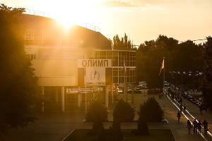Дворец спорта «Олимп» ©Фото Елены Синеок, Юга.ру