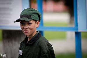 Осужденный в Белореченской воспитательной колонии ©Елена Синеок. ЮГА.ру