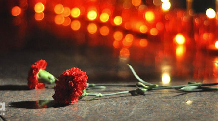 Свечи, цветы, траур ©Фото Юга.ру