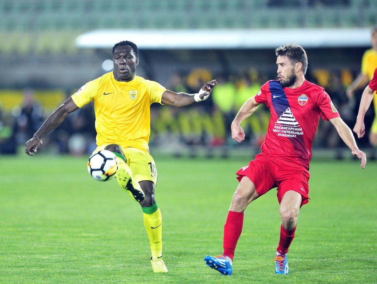 «Енисей» впервый раз ворвался вроссийскую футбольную Премьер-лигу