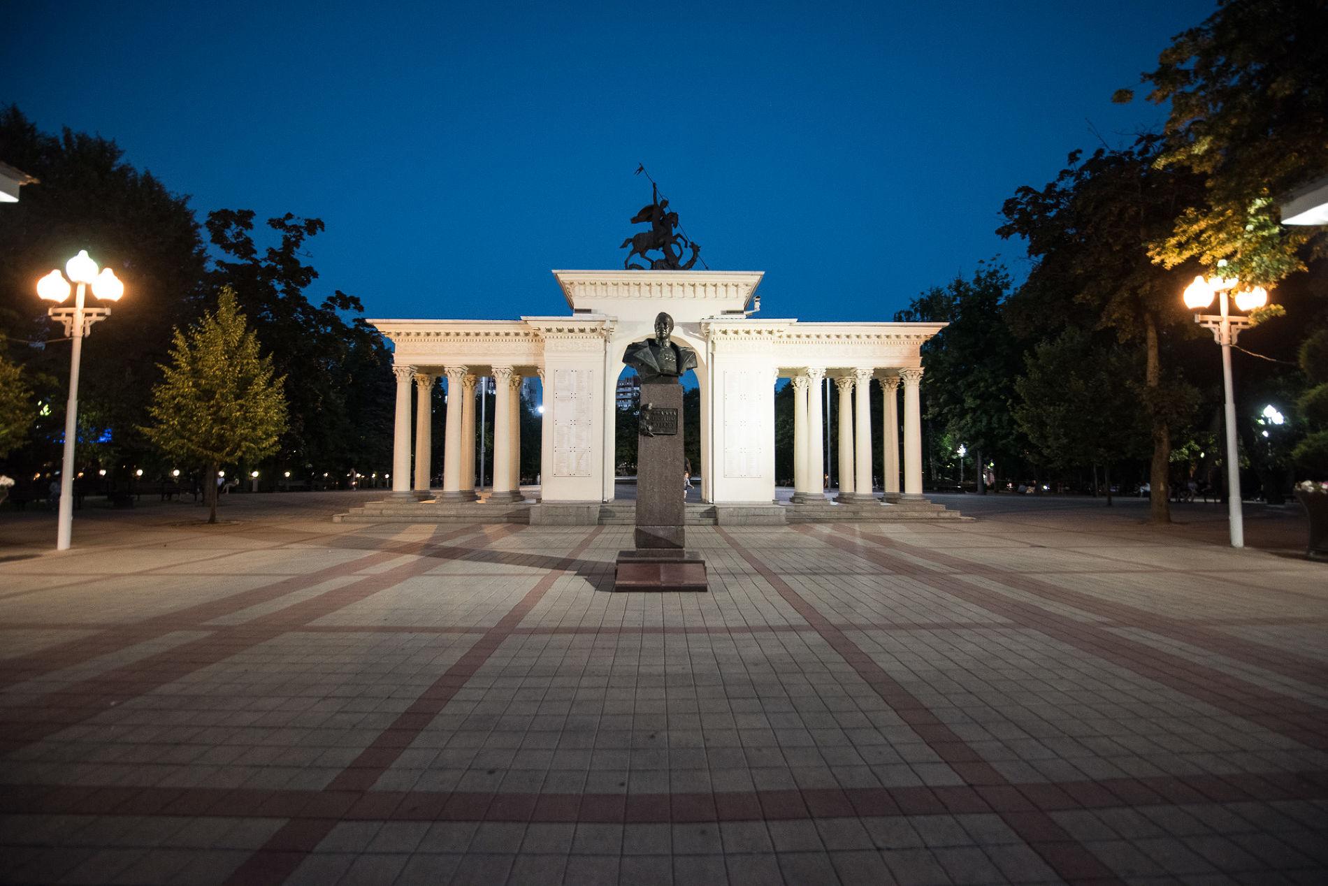 Сквер имени Жукова ©Фото Елены Синеок, Юга.ру