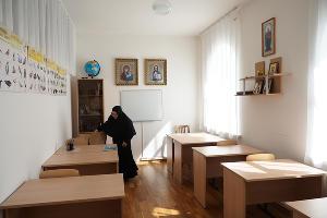Один из учебных классов при женским монастыре ©Фото Виталия Тимкива, Юга.ру