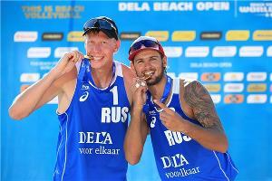 Никита Лямин и Вячеслав Красильников ©Фото с официального сайта ВК «Динамо», dinamokrasnodar.ru
