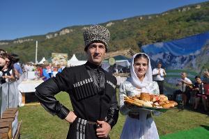 Фестиваль адыгейского сыра ©Фото пресс-службы главы Республики Адыгея