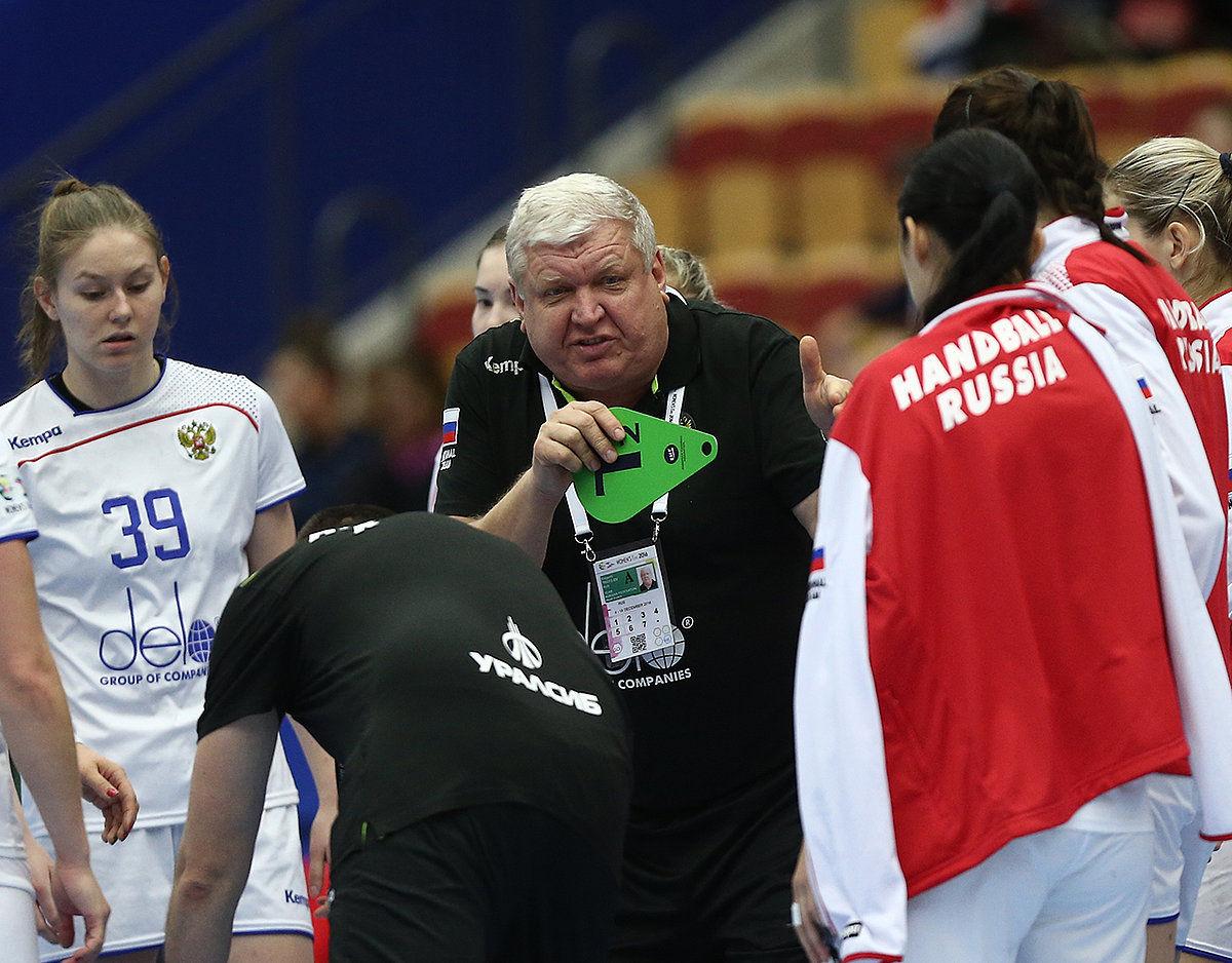 Русские гандболистки победят Венгрию в заключительном матче наЧЕ
